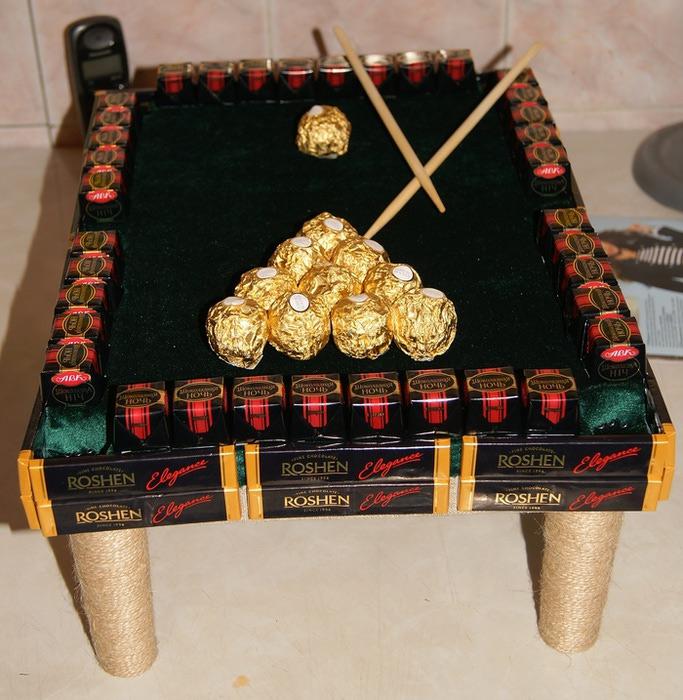 Бильярдный стол мастер класс